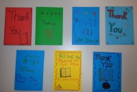 Room 14 thank you cards