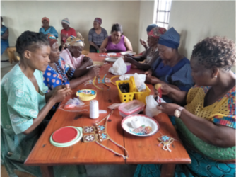 women-making-handicrafts