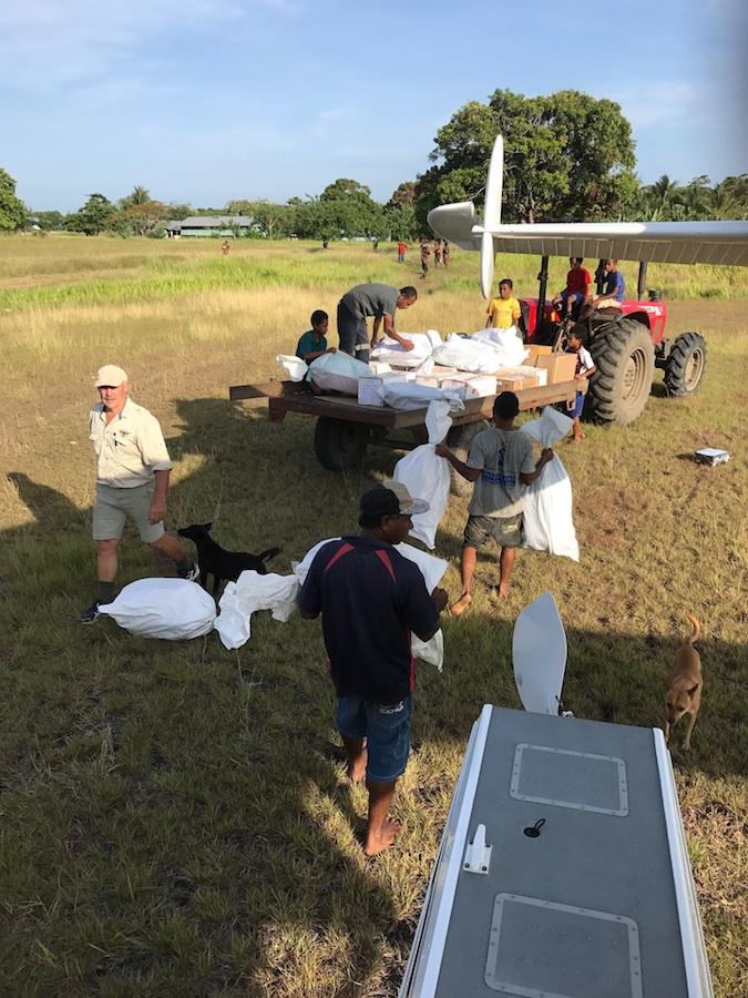 THOR-60-baby-bundles-Tarakararuru-airstrip