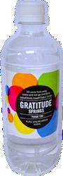Gratitude Springs water