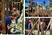 YPDR building houses in Eastern Samar